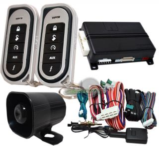 Viper 5204 Security Alarm and Remote Start 2 Way System and Keyless Entry 5204V
