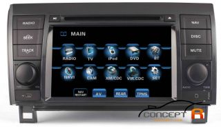 2007 2012 Toyota Tundra in Dash DVD GPS Navigation Radio Install Deck BT Stereo