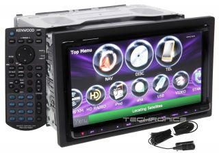 "Kenwood DNX890HD 2yr Wrnty 6 95"" Touch Screen Bluetooth Navigation Car Stereo"