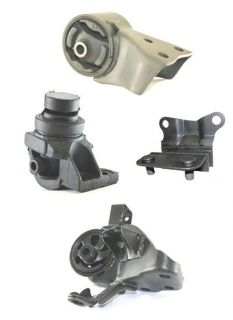 98 02 Mazda 626 93 97 Ford Probe 2 5L Engine Transmission Mounts 4pc Kit