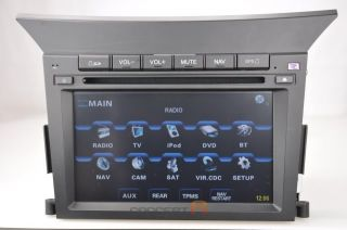 2009 2010 2011 2012 Honda Pilot DVD GPS Navigation Double 2 DIN Radio in Dash