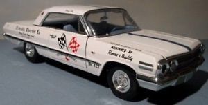 Sox Martin '63 Chevrolet Impala NHRA 1 64th HO Scale Slot Car Decals