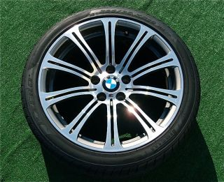 Set 4 Perfect Genuine Factory E90 BMW M3 Forged 19 inch Wheels Pirelli Tires