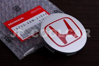 X4 JDM Honda Type R Wheel Centre Caps Civic FD2 EP3 Acura Integra RSX DC5