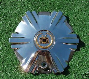 RARE Chrome Gold Vogue V1 Wheel Center Cap Cadillac V 1