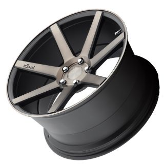 "20"" Niche Verona Black Machined Concave Wheels Rims for Infiniti G35 Sedan"