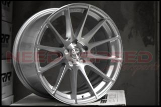 "19"" Ground Force GF06 GF6 Silver Concave Rims Wheels Fits Infiniti G35 Coupe"