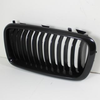 95 02 BMW 7 Series E38 740i 740IL 750iL Replacement Black Front Hood Grille