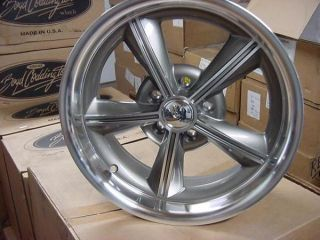Ridler 625 Merc Plymouth Mopar Dodge Ford Wheels Hotrod 5 on 4 5 BP 17""