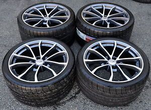 Corvette Centennial Cup Wheels Rims Tires Factory 19x10 20x12