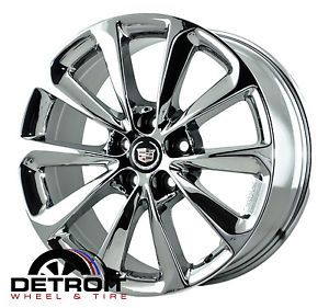 Cadillac XTS PVD Bright Chrome Wheels Factory Rim 4696 Exchange 2013 2014
