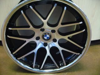 "20"" BMW Wheels Rim Tires 740i 740LI 745i 745LI E65 E66"