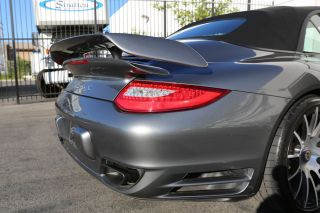 2012 Porsche Turbo s Cabriolet Body Kit Centerlock Forgiato Wheels