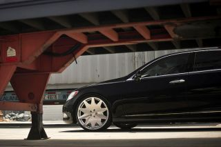 "20"" Lexus LS400 MRR HR 3 VIP Staggered Silver Concave Rims Wheels"