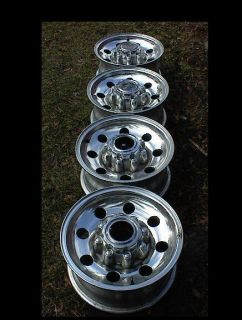 "16"" Ford Wheels Rims Centers Lug Nuts F250 F350 Plus Other 8 Lug Models"