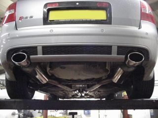 Audi RS6 V8 Milltek Exhaust Cat Back Non Res System Sports Cats
