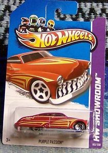1951 Mercury Custom Hot Wheels Rat Rod Hot Rod Kustom Purple Passion