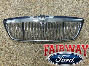 2005 Lincoln Aviator Genuine Ford Parts Chrome Grill Grille w Emblem New