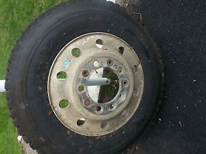 Goodyear Truck or Trailer Tire 285 75R24 5 with Rim