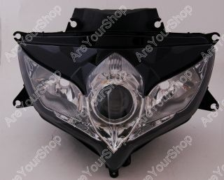 Front Headlight Headlamp Assembly Suzuki GSXR 600 750 08 10 K8