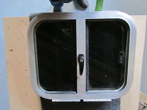 New Aluminum Drop Down Horse Trailer Window Slider 24 x 20 55