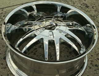 Helo 868 20 x 8 5 Chrome Rims Wheels Chrysler 300C V8 AWD 5H 38