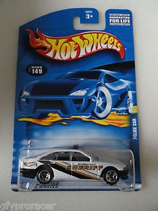 Hot Wheels Redline Police Car