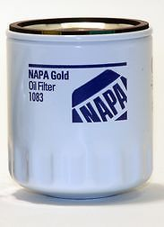 "1083 Napa Oil Filter Gold Spin on Lube Filter 3 404"" 2 921"""