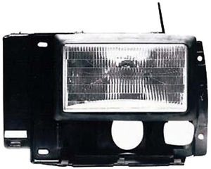 Ford Ranger 89 92 Headlight Assembly Left LH