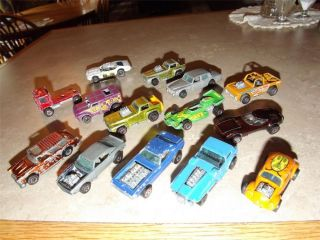 14 Red Line Hot Wheels RARE Bye Focal Heavy Chevy Hiway Robber Bug Torero More