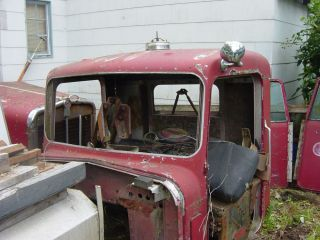 1965 Kenworth Truck A Model Project Cab Doors and Hood