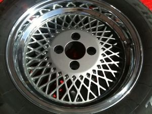 New Saleen Enkei 92 Style Mustang Are Wheels Tires 15x7 4LUG Mesh Rims 4x108