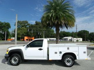 Knapheide Utility Bed Service Body Work Truck 3 5L i5 Fleet Serviced One Owner
