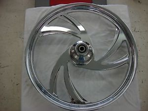 "Weld ""Slash ""21""x 2 15""Chrome Motorcycle Front Wheel"