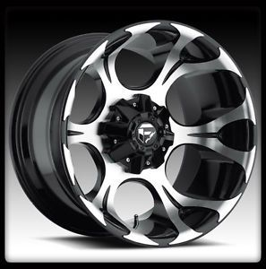 "20"" Fuel Dune Black Machined Wheel Rims Toyo 37x13 50x20 Open Country MT Tires"
