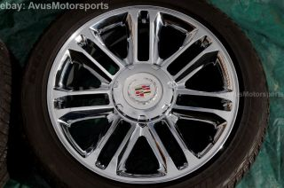 "2013 Cadillac Escalade 22"" Chrome Wheels Tires Silverado 1500 Tahoe Suburban"