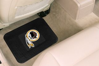 "Carpet Car Mat 2nd Row NFL Washington Redskins Logo Floor Mats 14"" to 17"" 2 Pcs"