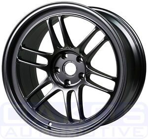 15 Enkei WDM Gunmetal Rims Wheels 15x6 5 38 5x114 3