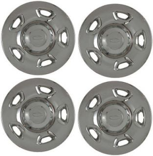 "F150 17"" Chrome Wheel Skins Hubcaps Covers Hub Caps"