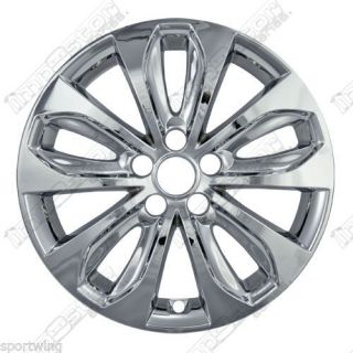 "For Hyundai Sonata Chrome Wheel Covers 18"" WS 353X Skins 4 Each Trim 2011 2012"