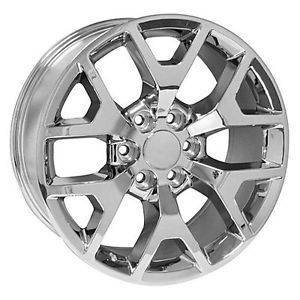 20 inch GMC Truck Yukon Denali Sierra Chrome Wheels Rims
