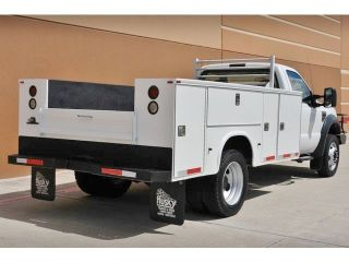 2008 Ford F 550 XL 2WD Diesel 11ft Knapheide Service Utility Bed 8 Tool Boxes