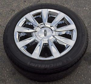 "17"" Lincoln MKZ Used Chrome Wheel Rim Tire 2010 2011 2012"