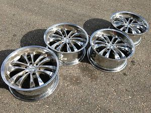 "20"" MC2 GMC Sierra Yukon Denali Tahoe Escalade Chrome Wheels Rims Silverado"