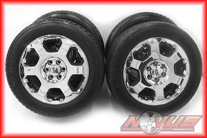 "20"" Ford Expedition F150 Chrome Factory Wheels Cooper Tires 22 18"