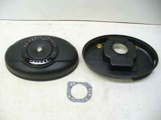 Harley TC96 Fatboy Flat Black Air Cleaner Parts