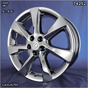 "19"" Lexus RX350 PVD Chrome Wheels No Exchange"