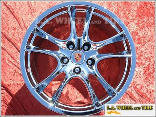 "Porsche Cayenne 21"" Chrome Factory Wheels Exchange"