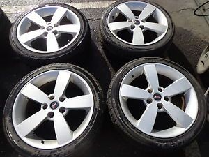 "04 05 06 Pontiac GTO 18"" SILVER OEM WHEELS RIMS TIRES FALKEN GM 235/40./18"