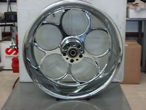 "Weld ""Magnum"" 21""X2 15""Chrome Motorcycle Front Wheel"